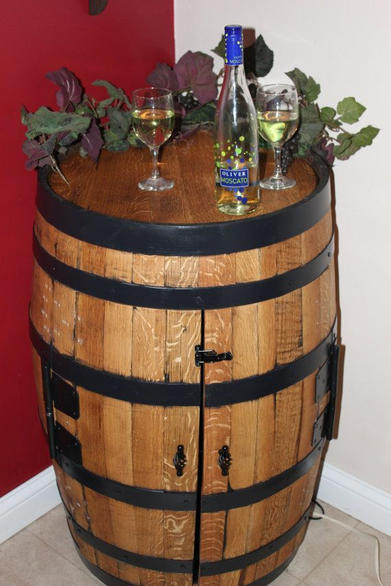 How To Make A Wine Barrel Liquor Cabinet Woodworking