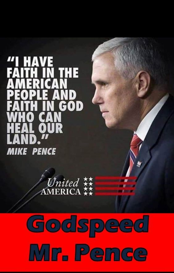 "V.P for ALL THE PEOPLE???  That's fine and dandy but remember, Mike, ""faith in God"" doesn't mean we all must have faith in YOUR God, but I'm SURE that's what you meant. Right???!"