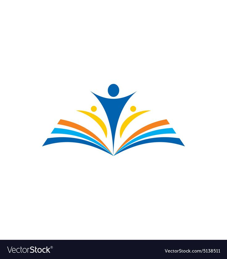 book learn education school logo. Download a Free Preview ...
