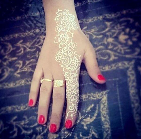 best white heena designs 1612201512                                                                                                                                                      More