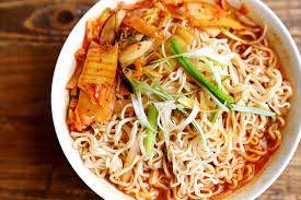 Image result for Kimchi linguine