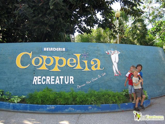 Cubans are crazy for ice cream. With the heat beating down on them and lots of time, they go to their favorite ice cream shop – Coppelia! http://travelexperta.com/2012/02/coppelia-world-famous-cuban-ice-cream-havana-cuba-photo-essay.html #cuba #icecream #food