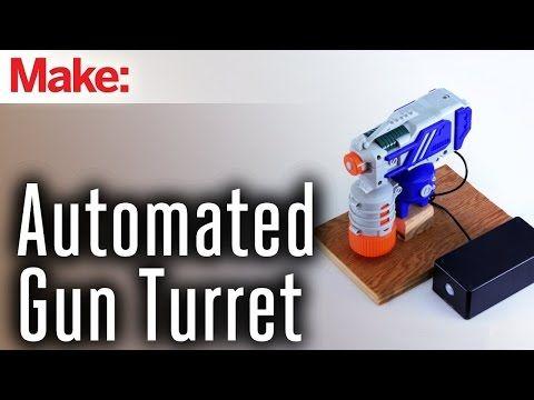 Motion sensor + spray gun + arduino