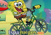 Bob Esponja Bike Ride: Juego de bob esponja, donde tiene que tratar de acumular varias amburguesas manejando su bicicletas, ten cuidado con el camino http://www.ispajuegos.com/jugar4330-Bob-Esponja-Bike-Ride.html