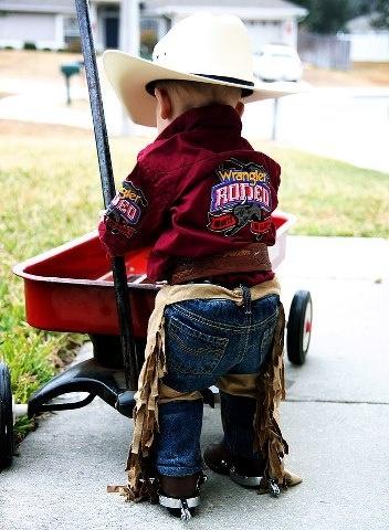 love this little cowboy
