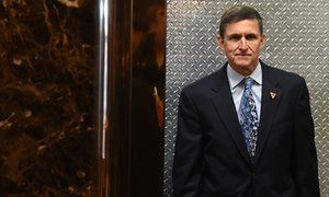 Trump knew for weeks Michael Flynn misled over Russia contact. White House says resignation a result of 'eroding level of trust', not potential violation of law, as GOP divided over inquiry into Flynn's calls with ambassador.