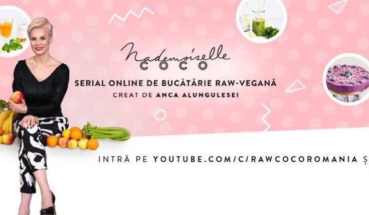 Abonează-te la #MademoiselleCoco, serialul online cu cele mai delicioase rețete raw vegan www.youtube.com/c/RawCocoRomania