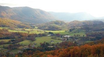 Where my daddy grew up. Big Stone Gap Virginia          Powell Valley near Big Stone Gap, VA