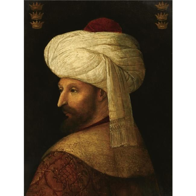 Fatih Sultan Mehmet Han -Conqueror of Istanbul -One of the biggest sultans of Ottoman Empire.