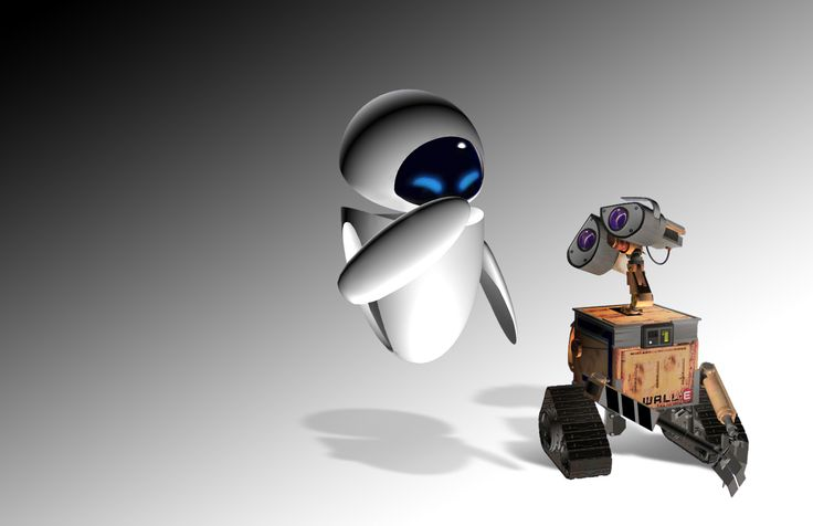 WALL·E Disney Movies EVE Wallpapers HD Desktop and Mobile
