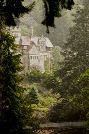 The house at Cragside, Northumberland.