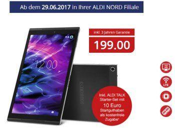 Aldi-Tablet: Medion Lifetab X10302 mit LTE für 199 Euro https://www.discountfan.de/artikel/tablets_und_handys/aldi-tablet-medion-lifetab-x10302-mit-lte-fuer-199-euro.php Bei Aldi-Süd war es bereits vor einigen Wochen im Angebot, nun feiert es bei Aldi-Nord ab dem 29. Juni 2017 Premiere: Das Medion Lifetab X10302 ist das erste Aldi-Tablet mit LTE. Aldi-Tablet: Medion Lifetab X10302 mit LTE für 199 Euro Das Medion Lifetab X10302 für 199 Euro ist ab Donnerstag... #AldiTab