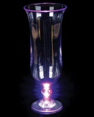 Light-Up Hurricane Glass - 16 oz