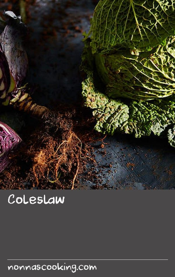 Coleslaw | This is an Olympic Village School Garden recipe for classic coleslaw. You can prepare the vegetables ahead of time, but be sure to add the dressing just before serving to keep the salad crisp.