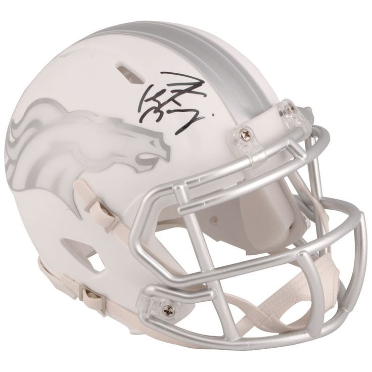 Peyton Manning Denver Broncos Fanatics Authentic Autographed Riddell ICE Speed Mini Helmet