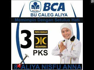 Caleg dprd Kota Malang 2014 dari PKS Nomer urut 8, Aliya Nisfu Anna