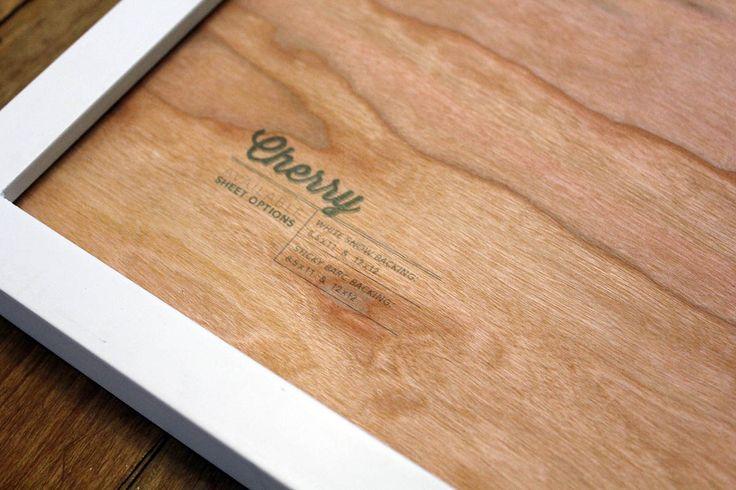 cherry wood veneer rolls