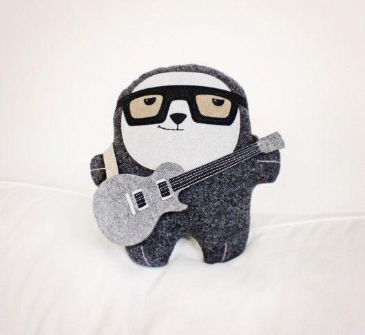 Bambak, chłopak z gitarą