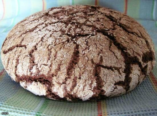 Хлеб ржаной на закваске из обойной муки