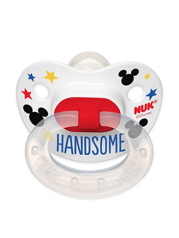 Disney® Baby Mickey Mouse and Minnie Mouse Orthodontic Pacifiers | NUK®