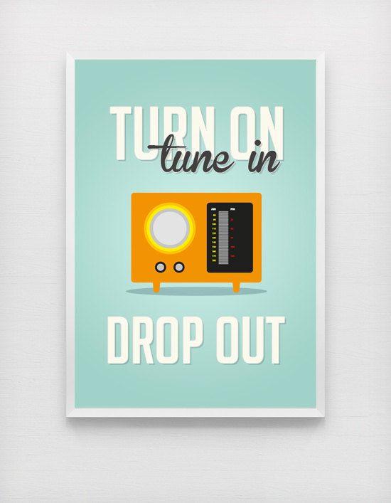 Radio2 - Retro Poster