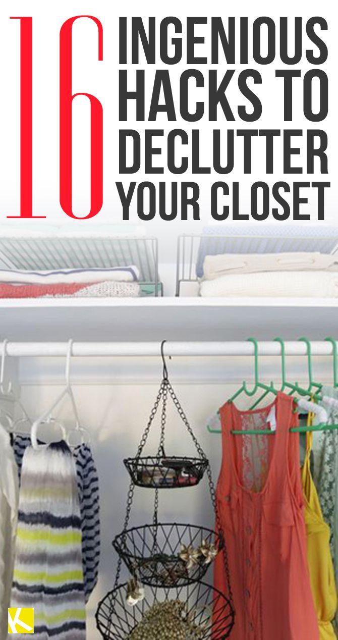 16 Closet Organization Hacks That Will Change Your Life