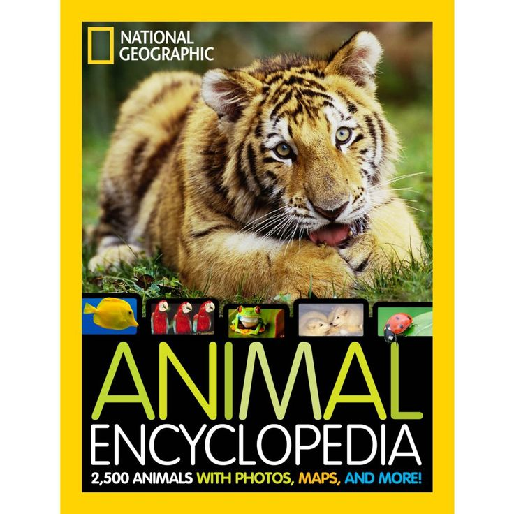 National Geographic Animal Encyclopedia | National Geographic Store
