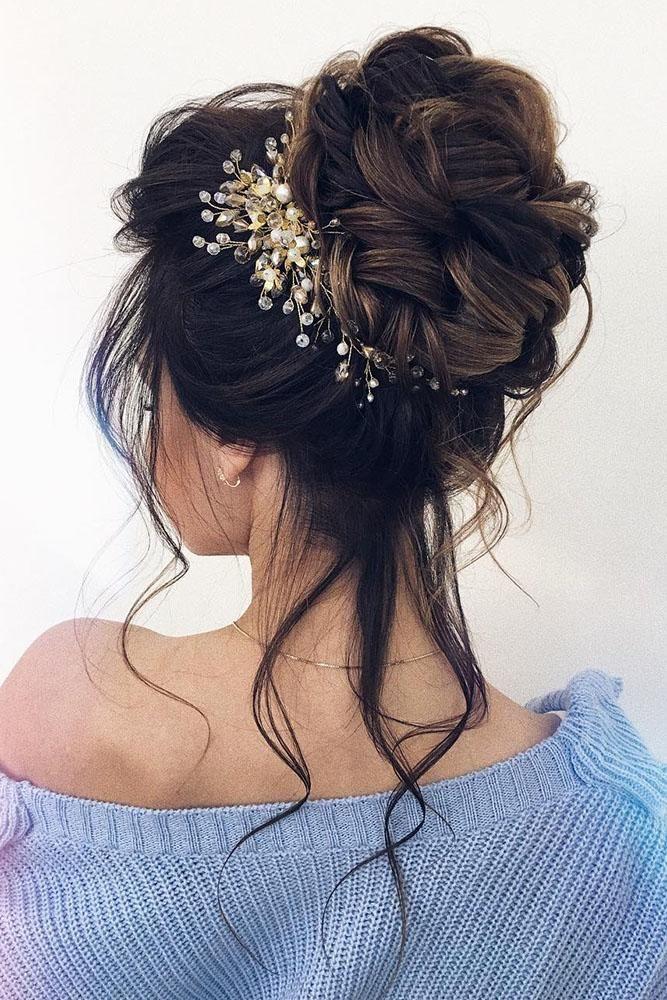 27 idéias e dicas de acessórios de cabelo para casamento lindo   – Nails an hair wedding ideas