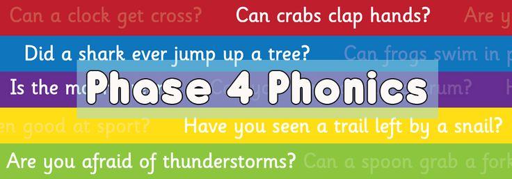 Teacher's Pet - Phase 4 Phonics - FREE Classroom Resources - EYFS, KS1, KS2,