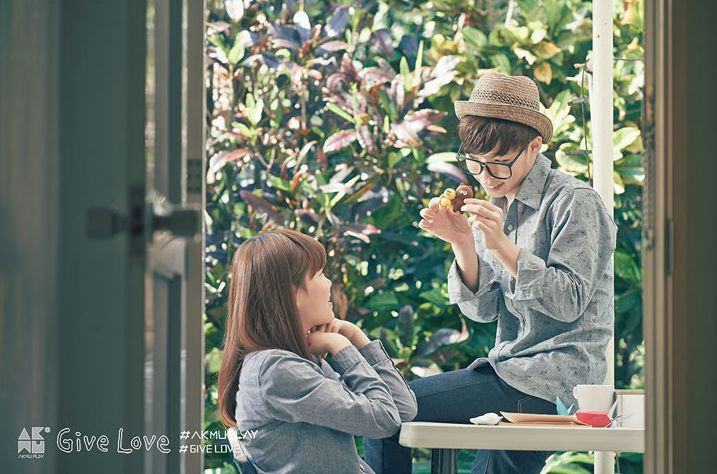 Naver Music releases official photos for #AKMU's 'GIVE LOVE' M/V