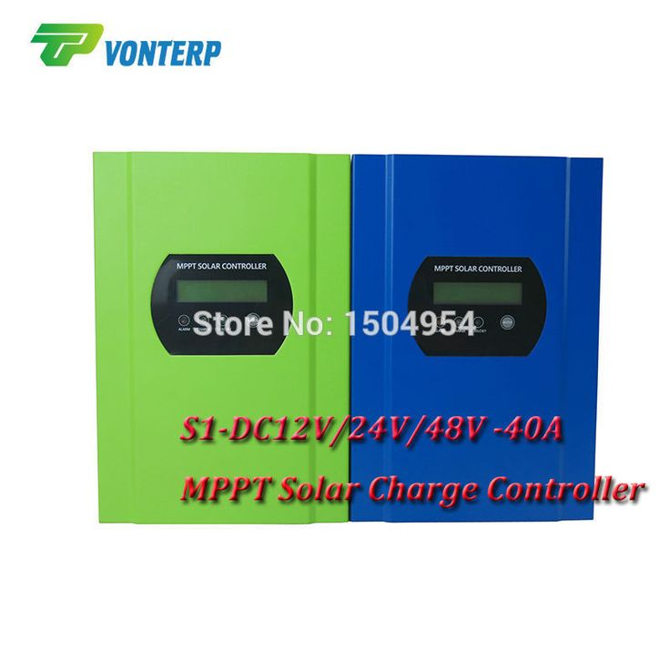 S1-DC12V/24V/48V-40A MPPT solar charge controller 99% effficiency MPPT PV regulator 48V 40A