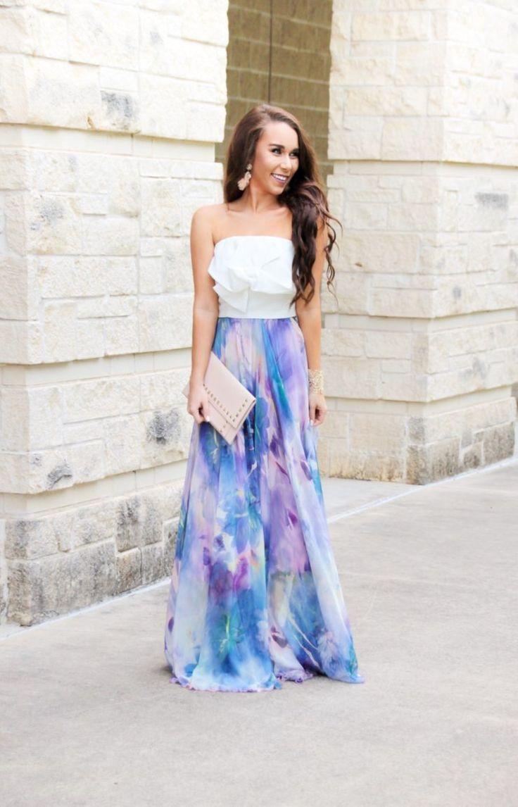 Purple Watercolor Maxi Skirt - Sunshine & Stilettos Blog (Instagram: @katlynmaupin)