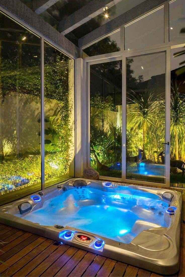 Best Hot Tub Sanitizer An Essential Factor For Your Hot Tub Indoor Hot Tub Hot Tub Outdoor Hot Tub Landscaping