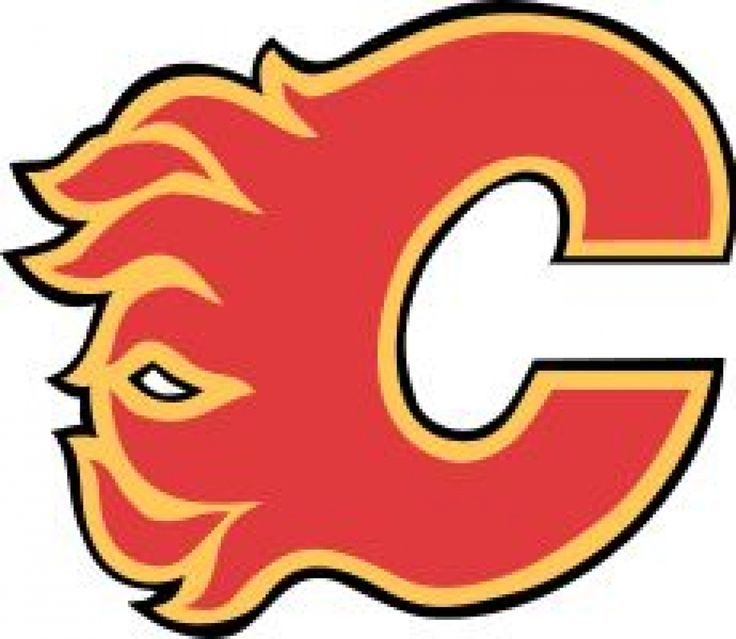 national hockey league players | Official logo of the nhl calgary flames national hockey league team