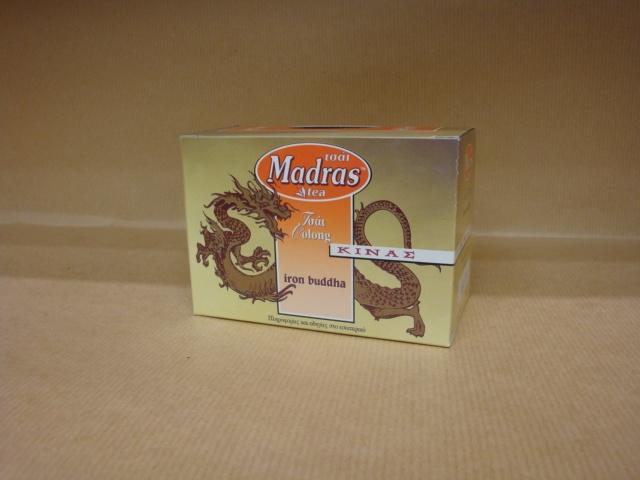 Madras Iron Buddha 15 Φάκελα Oolong Τσάι Κίνας