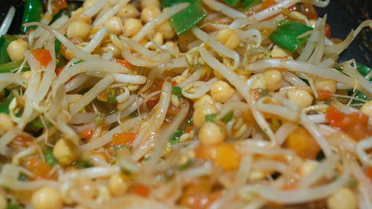 ElcoBlog: Диетические Рецепты: Тофу с ростками сои. Рецепт с расчетом КБЖУ.