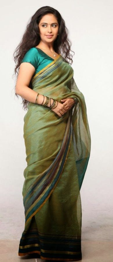 Indian Actress: Avika Gor new movie cute sari stills
