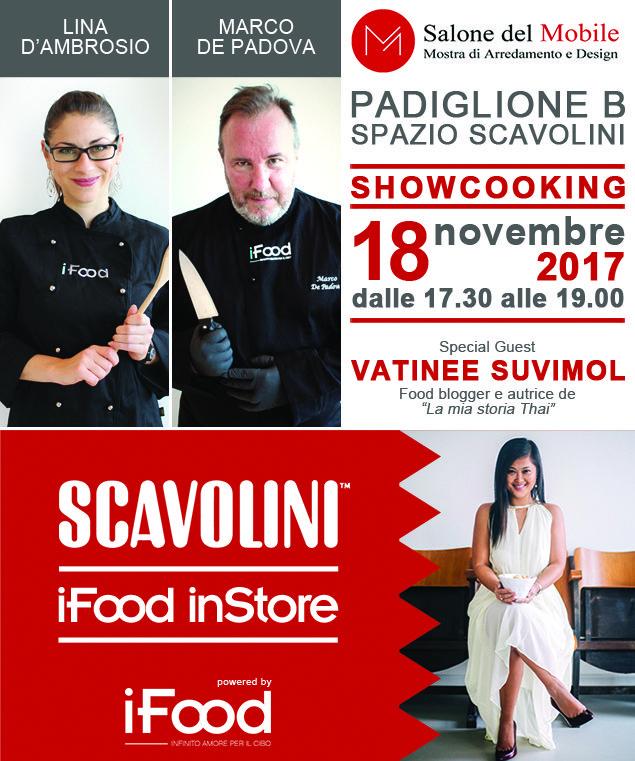 Salone del Mobile BG - show cooking 18 nov