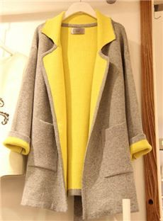 Popular Style Plus Size Ladies' Slim Coat: dressyours.com