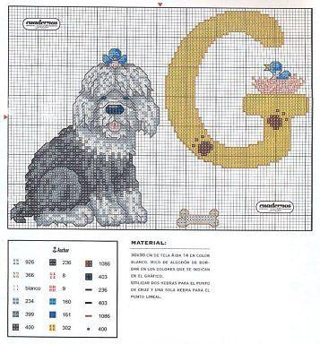 Flashup -- ALPHABET DOG -- G