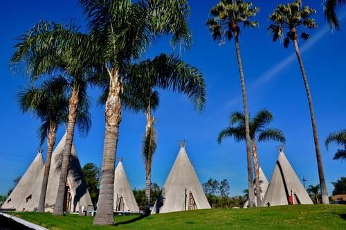 The Wigwam, in San Bernardino, California