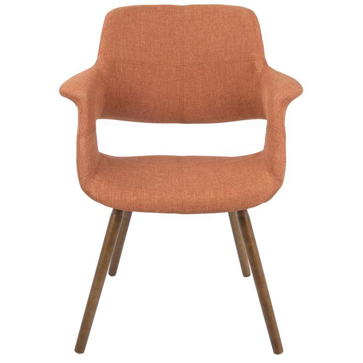 LumiSource Vintage Flair Mid-century Modern Accent Chair