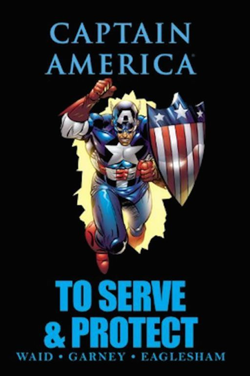Captain America: To Serve & Protect Marvel Premiere Editions Hardcover PreOwned