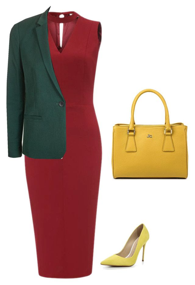 office stile by asvetik on Polyvore featuring мода and Lost Ink
