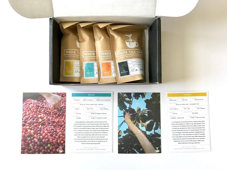 White Tale Coffee Subscription Review