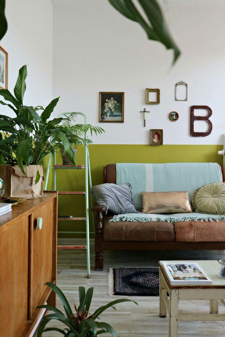 My green livingroom