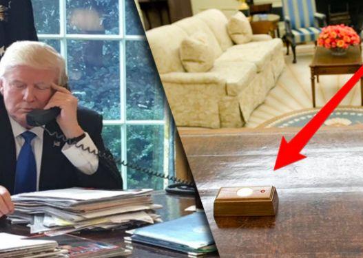 As për bombë atomike as për emergjencë. Do habiteni se përse shërben butoni i kuq në tavolinën e Trump!