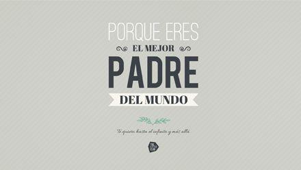 Un descargable gratis para los mejores padres del mundo. Un original regalo para el Día del Padre. #imprimible #descargable #laminadiadelpadre
