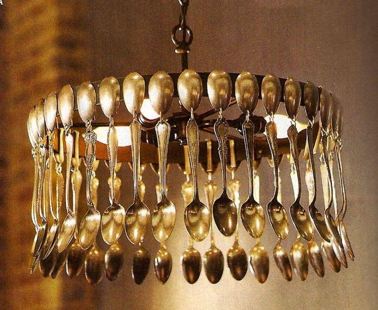 handmade+chandelier | SILVERWARE CHANDELIER | Chandelier Online