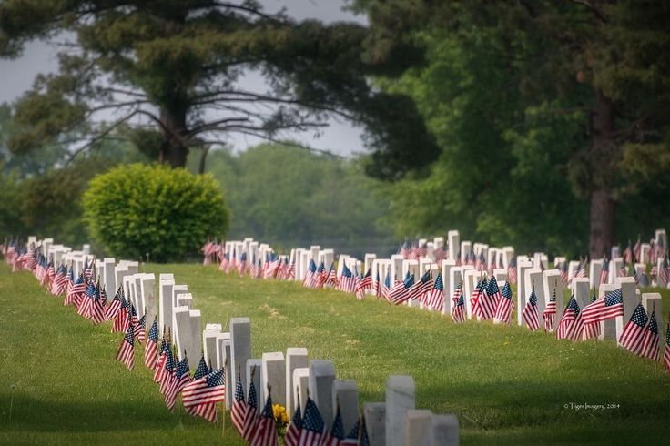 Cemetery at il veterans home i was honored to be able